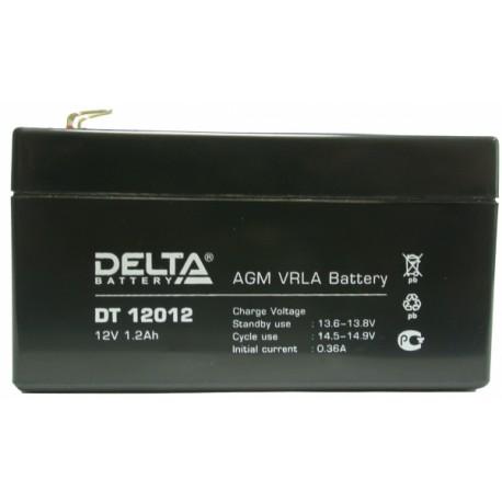 Свинцово-кислотный аккумулятор DELTA DT 12012 12V 1.2Ah