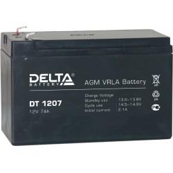 Свинцово-кислотный аккумулятор DELTA DT 1207 12V 7Ah