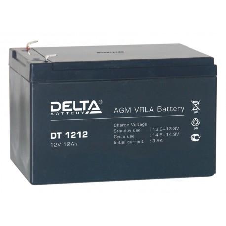 Свинцово-кислотный аккумулятор DELTA DT 1212 12V 12Ah