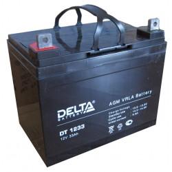 Свинцово-кислотный аккумулятор DELTA DT 1233 12V 33Ah