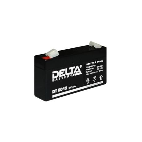 Свинцово-кислотный аккумулятор DELTA DT 6015 6V 1.5Ah