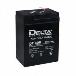 Свинцово-кислотный аккумулятор DELTA DT 606 6V 6Ah