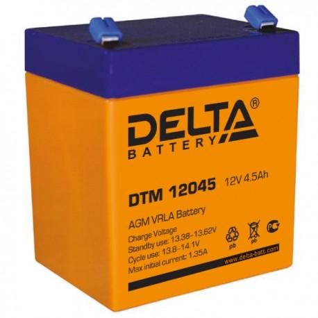 Свинцово-кислотный аккумулятор DELTA DTM 12045 12v 4.5Аh