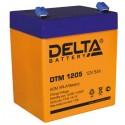 Свинцово-кислотный аккумулятор Delta DTM 1205 12v 5Аh