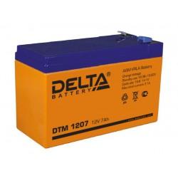 Свинцово-кислотный аккумулятор DELTA DTM 1207 12V 7 Ah