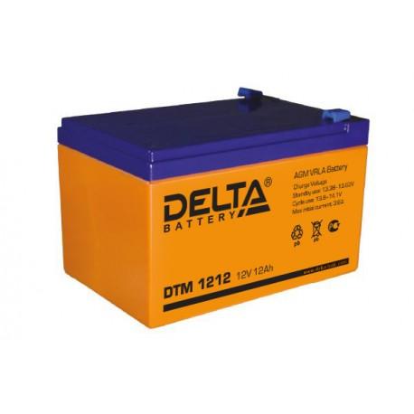 Свинцово-кислотный аккумулятор DELTA DTM 1212 12V 12Ah