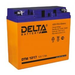 Свинцово-кислотный аккумулятор DELTA DTM 1217 12V 17Ah