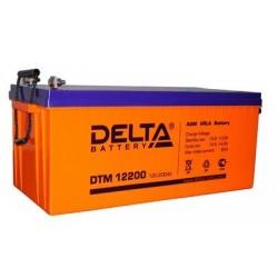 Свинцово-кислотный аккумулятор DELTA DTM 12200 L 12V 200Ah