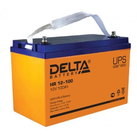 Свинцово-кислотный аккумулятор DELTA HR 12100 12V 100Ah