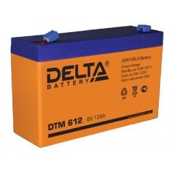 Свинцово-кислотный аккумулятор DELTA DTM 612 6V 12Ah