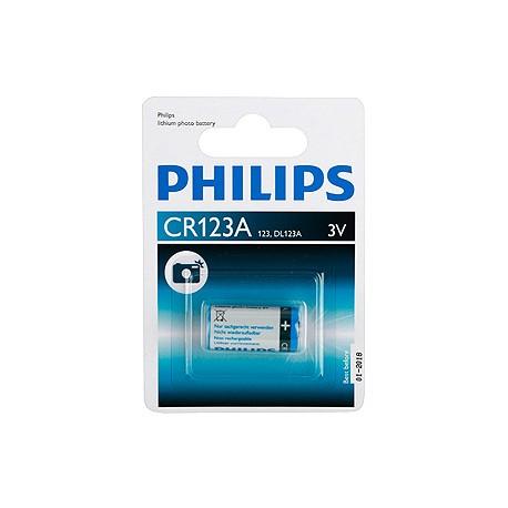 Фотолитевая батарейка Philips CR123 (123, DL123A) 3V