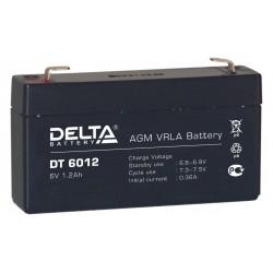 свинцово-кислотный аккумулятор Delta DT 6012