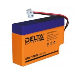Свинцово-кислотный аккумулятор Delta DTM 12008