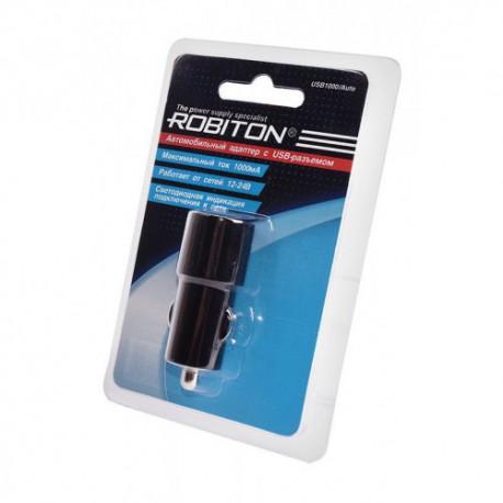 ROBITON USB1000/Auto 1000мА с USB входом (12-24V) BL1