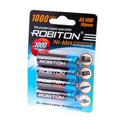 Аккумулятор ROBITON 1000MHAA-4 BL4