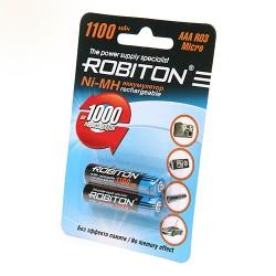 Аккумулятор ROBITON 1100MHAAA-2  BL2