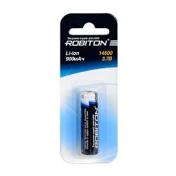 Аккумулятор ROBITON 14500 900мАч с защитой BL1