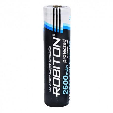 Аккумулятор ROBITON 2.6/Li18650 с защитой