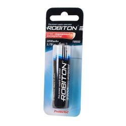 Аккумулятор ROBITON 3.2/Li18650 с защитой BL1