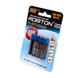 Аккумулятор ROBITON 600MHAAA-4 BL4