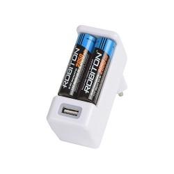 Зарядное устройство ROBITON Smart USB BL1