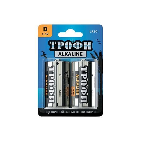 Батарейка Трофи LR20-2BL