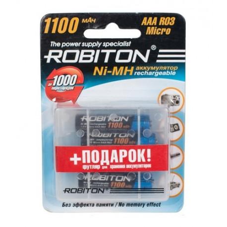 Аккумулятор ROBITON 1100MHAAA-4  BL4