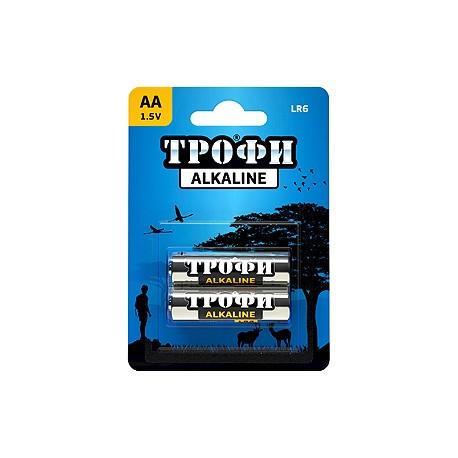 Батарейка Трофи LR6-2BL AA