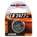 Литиевая дисковая батарейка Ansmann 1516-0010 CR2477 BL1