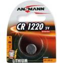 Литиевая дисковая батарейка Ansmann 5020062 CR1220 BL 1