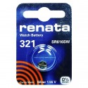 Батарейка часовая Renata SR616SW 321