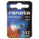 Батарейка часовая Renata SR516SW 317 BL10