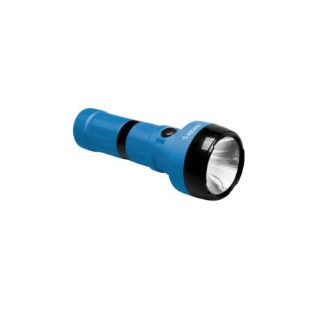 Фонарь светодиодный Космос 1W супер яркий LED элемент, 2 режима работы, евровилка, 500мАч