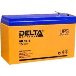 Свинцово-кислотный аккумулятор Delta HR 12-9 12V 9Ah