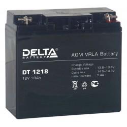 Cвинцово-кислотный аккумулятор Delta DT 1218 12V 18Ah