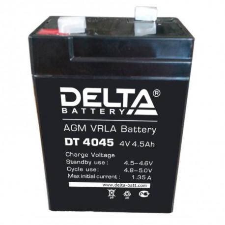 Cвинцово-кислотный аккумулятор Delta DT 4045