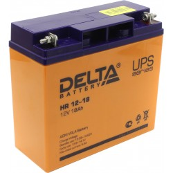 Cвинцово-кислотный аккумулятор Delta HR 1218 12V 18Ah