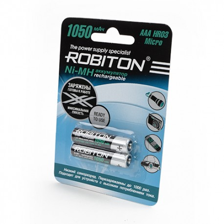 Аккумулятор Robiton RTU1050MH-2 BL2