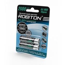 Аккумулятор Robiton RTU2600MH-2 BL2