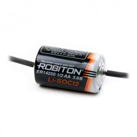 Элемент питания Robiton ER14250-AX 1/2 AA с аксиальными выводами