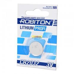 Элемент питания Robiton PROFI R CR2032 BL5