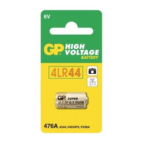 Высоковольтная батарейка GP 4LR44 (476A,A544, V4034PX) 6V