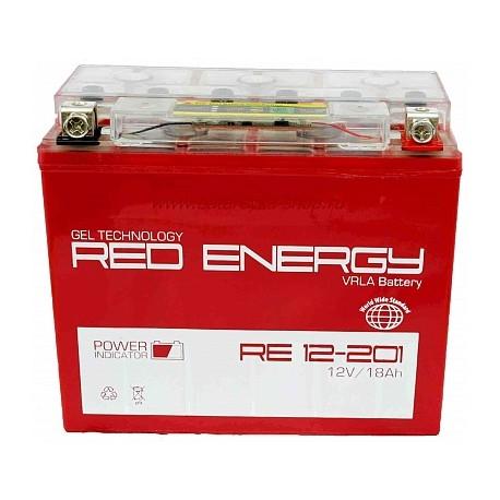 Свинцово-кислотный аккумулятор Red Energy RE 1220.1 12V 20.1Ah