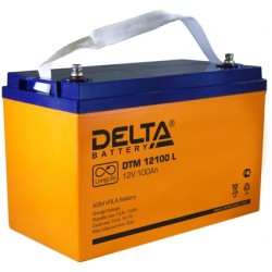 Свинцово-кислотный аккумулятор Delta DTM 12100 L 12V 100Ah