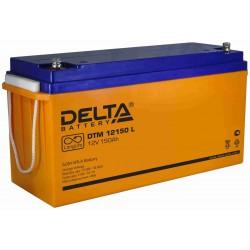 Свинцово-кислотный аккумулятор Delta DTM 12150 L