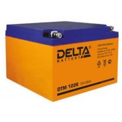 Свинцово-кислотный аккумулятор Delta DTM 1226