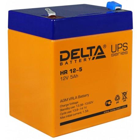 Свинцово-кислотный аккумулятор Delta HR 12-5