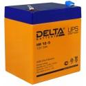 Свинцово-кислотный аккумулятор Delta HR 12-21W 12V 5Ah