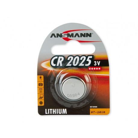 Элемент питания ANSMANN 5020142 CR2025 BL1