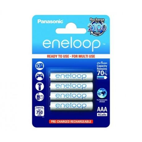 Аккумулятор Panasonic eneloop BK-4MCCE/2BE 750mAh AAA BL2